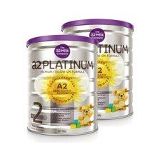 【2罐装】澳洲a2Platinum白金婴儿奶粉2段 (6-12个月) 900g