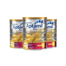 【澳洲直邮】澳洲婴儿奶粉可瑞康爱他美Aptamil白金版婴儿奶粉4段 900g*3罐装