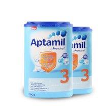 【2罐装】德国Aptamil爱他美 3段奶粉800g*2