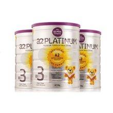 【澳洲直邮】澳洲婴儿奶粉A2白金奶粉3段 900g*3罐装(限购3罐)