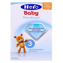 Hero baby荷兰奶粉3段800g(10-12个月)