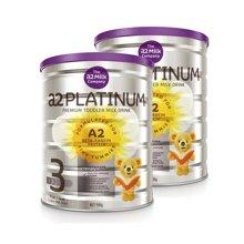 【2罐装】澳洲a2 Platinum白金婴儿奶粉 3段(1-3岁) 900g