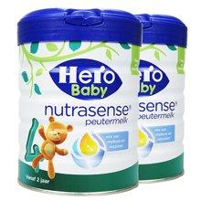 【2罐装】荷兰Hero Baby白金版奶粉4段(700g)