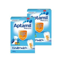 【2罐装】德国Aptamil爱他美 1+段奶粉600g*2(1岁以上)