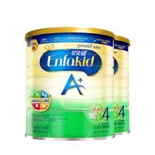 2罐装  香港MeadJohnson美赞臣Enfakid安儿健婴幼儿奶粉 4段(3-6岁) 900g/罐