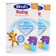 【2盒装】荷兰Hero Baby奶粉5段(2周岁以上宝宝)(700g)