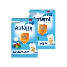 【2罐装】德国Aptamil爱他美 2+段奶粉 600g(2岁以上)
