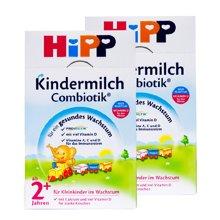 【2盒装】德国喜宝 Hipp有机益生菌奶粉  2+段(2岁以上)600g