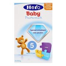 Hero baby荷兰奶粉5段700g(2岁以上)