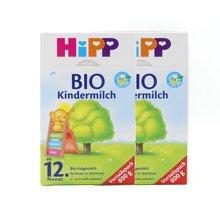 【2盒装】德国喜宝 Hipp有机奶粉 12+段/4段(1岁以上)800g