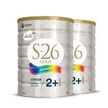 【2罐装】澳洲惠氏 S26金装4段奶粉 900g(2岁以上)