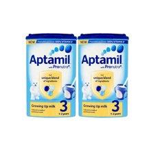 【2罐装】英国Aptamil爱他美婴儿奶粉3段(1-2周岁宝宝)900g/罐