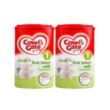 英国直邮 2罐 英国原装牛栏 1段 0-6个月 奶粉900g