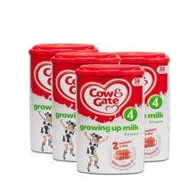 英国直邮 4罐 英国原装牛栏 4段 2-3岁 奶粉800g