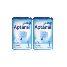 【2罐装】英国Aptamil爱他美婴儿奶粉1段(0-6个月宝宝)900g/罐