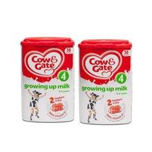 英国直邮 2罐 英国原装牛栏 4段 2-3岁 奶粉800g
