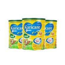 【澳洲空运直邮】澳洲婴儿奶粉可瑞康Karicare羊奶粉1段 900g*3罐装