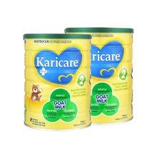 【2罐装】新西兰可瑞康 Karicare羊奶粉2段 900g