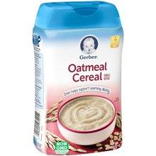 美国Gerber嘉宝婴儿纯燕麦米粉2段(227g)