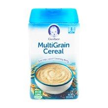 美国Gerber嘉宝婴幼儿混合谷物3段米粉(227g)