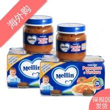 【2组装】Mellin美林 番茄蔬菜泥80g*2