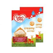【香港直邮】英国牛栏COW&GATE宝宝米粉米糊4-6月 4m+原味125g*2盒