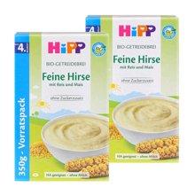 【2盒装】【德国】喜宝Hipp米粉有机免敏小米米粉350g