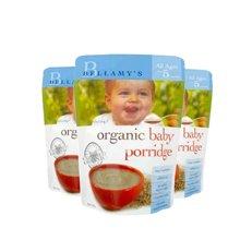 【澳洲直邮】澳洲贝拉米有机婴儿米粉米糊宝宝辅食燕麦(5月以上) 125g*3袋装