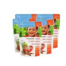 【澳洲直邮】澳洲贝拉米有机婴儿米粉米糊宝宝辅食 肉桂(6月以上)125g*5包