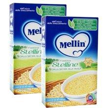 【2盒装】【意大利】Mellin美林星星形面食350g