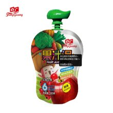 方广苹果山楂果汁泥103G婴儿果泥