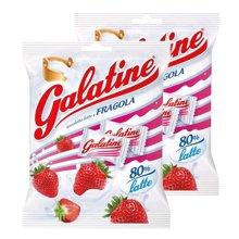 【2包装】【意大利】galatine佳乐定儿童牛奶片115g 草莓味