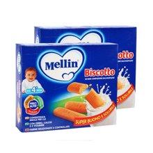 【2盒】【意大利】Mellin美林磨牙饼 手指饼干360g