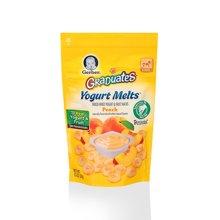 美国Gerber嘉宝 黄桃酸奶溶豆零食(28g)