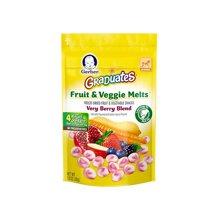美国Gerber嘉宝 混合水果蔬菜酸奶溶豆零食(28g)