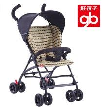 Goodbaby/好孩子 黄黑色轻便伞把推车轻便透气可折叠婴儿推车(6个月-3岁) D306-M322YB