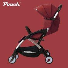 Pouch婴儿推车A18可坐可躺轻便折叠儿童手推车上飞机宝宝伞车夏