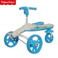 费雪(Fisher Price)801户外儿童三轮车 宝宝可坐玩具车 小鳄鱼造型费雪童车