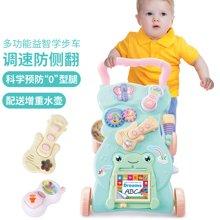 2017新款婴儿学步车手推车儿童宝宝多功能带音乐可调速助步车玩具TTL999-1