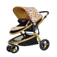 Gubi 咕比EVA轮式婴儿手推车H315B(正反双方向/可平躺/小型收纳/大容量)摩羯座