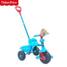 费雪139多功能儿童三轮脚踏手推车婴儿踏行车宝宝自行车童车带储物