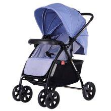 好孩子婴儿推车轻便高景观折叠可躺可坐全篷双向避震手推车(C300-N416BB(蓝色))