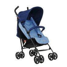 好孩子轻便婴儿伞车可平躺宝宝手推车便携折叠避震童车婴儿车(蓝色D400-P115)