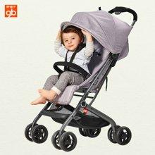 好孩子婴儿推车可躺可坐宝宝推车宝宝伞车(银灰D678-N302GG)