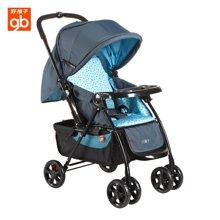 Goodbaby/好孩子 蓝色多功能双向平躺折叠宝宝婴儿手推车(适合0-3岁) C319