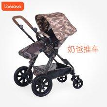 Ibelieve爱贝丽高景观婴儿推车可坐可躺四轮避震折叠宝宝婴儿车