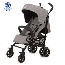 葫芦堡婴儿推车可坐可躺儿童推车轻便童车折叠高景观360°万向四轮避震