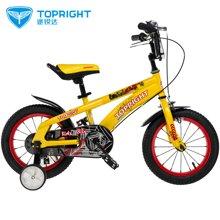 途锐达3岁以上儿童自行车14寸小孩自行车童车男女蜘蛛侠
