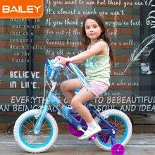 Disney迪士尼Bailey儿童自行车小孩男女童车3-13岁冰雪奇缘款12寸