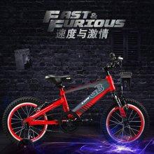 Goodbaby/好孩子 红色儿童自行车男女14英寸小孩学生自行车脚踏车山地车(3-7岁) HB1490-P200R